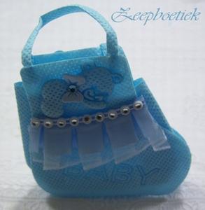 bedel babysokje blauw