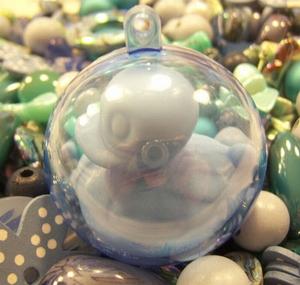 Plastic bal 5 cm ø
