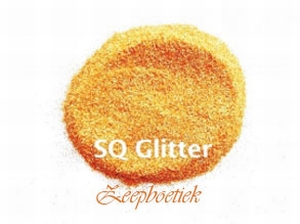 Glitters voor in de gietzeep Kleur:goud/oranje