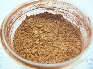 SQ mica poeder, 10 gram brons in een gripzakje